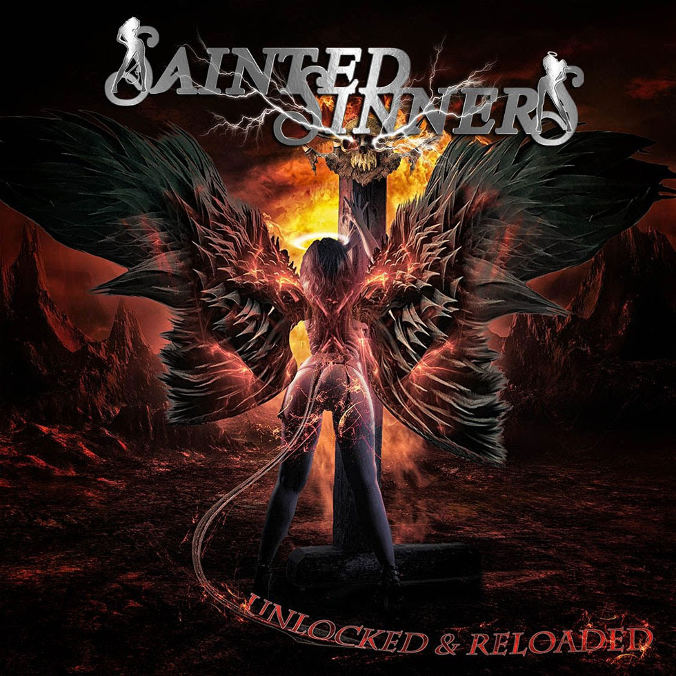 SAINTED SINNERS Release 'Standing On Top' Guitar Playthrough Video By Guitarist Frank Pané (BONFIRE)